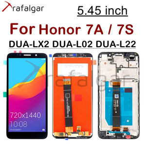"""Image 1 - 5.45"""" Display for Huawei Honor 7A LCD Display Honor 7S DUA L22 L02 LX2 Touch Screen For Honor 7A Display With Frame Y5 2018"""