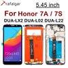 Дисплей 5,45 дюйма для Huawei Honor 7A, ЖК дисплей для Honor 7S DUA L22 L02 LX2, сенсорный экран для Honor 7A, дисплей с рамкой Y5 2018