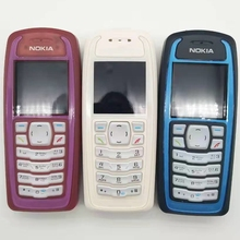 Горячая распродажа~ разблокированный Nokia 3100 GSM бар 850 мАч Поддержка Русская и арабская клавиатура дешевый и старый мобильный телефон
