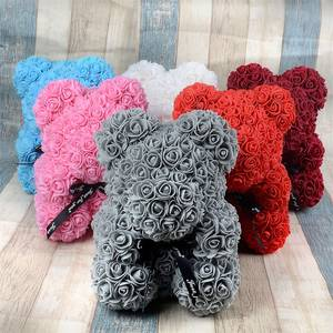 Foam Teddy Rose Birthday-Party-Decoration Mother's-Day-Gift Girlfriend Valentines-Day