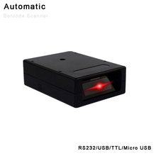 USB RS232 Automatic Barcode Scanner Micro USB TTL Barcode Scanner 1D 2D QR Screen Code Reader Support Windows Mac DOS/VSE Linux original honeywell ms3780 fusion barcode reader multi line laser scanner with stand compatible with usb or rs232 port