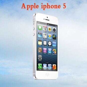 Original Full unlocked iphone 5 Cellphone with Clean iCloud,GSM WCDMA Apple iphone 5 5G Mobile phone +IOS 1400mah 16GB/32GB/64GB