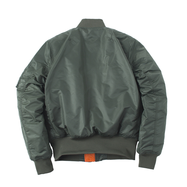 Plus Size US Air Force Pilot Ma1 Bomber Flight Jacket Men hip hop padded Letterman Winter Waterproof Nylon puffer red women coat 5