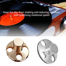 Audio Durable Reduce Vibrate Weight Clamp Disc Stabilizer Portable Music Balanced Alloy LP Vinyl Turntable HIFI  Player