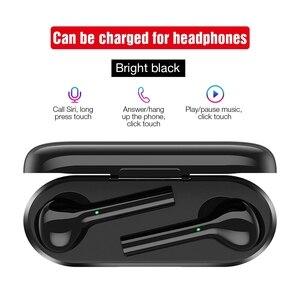 Image 4 - TOMKAS Freebud TWS kablosuz Bluetooth kulaklık 5.0 gerçek kablosuz kulaklık kulaklık Stereo Bluetooth mikrofonlu kulaklıklar telefon için