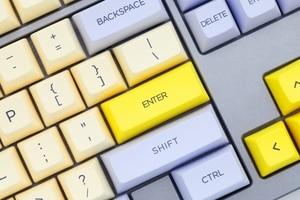 Image 5 - SA profile Dye Sub Keycap Set PBT plastic lily beige purple  for mechanical keyboard beige grey cyan gh60 xd64 xd84 xd96 87 104