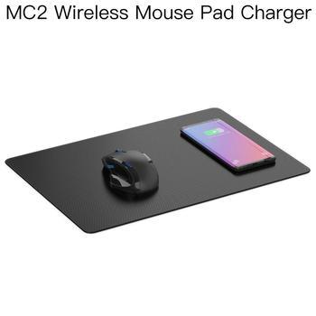 JAKCOM MC2 alfombrilla para ratón inalámbrico cargador más reciente que totalmente espías gadgets x mini ventilador tipo c notebook barato memo Pad