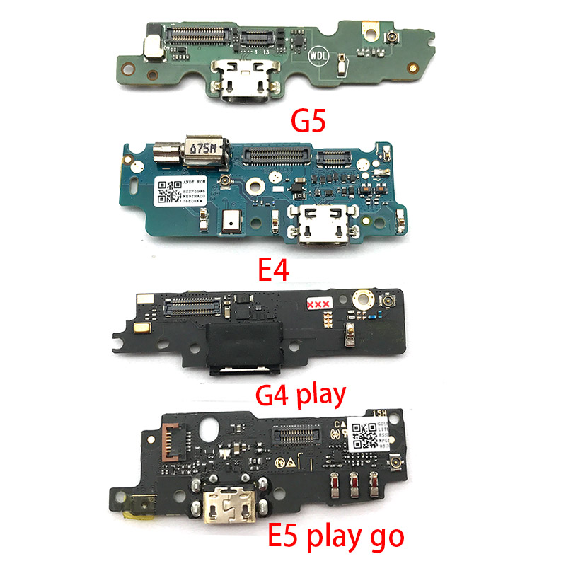 USB Charger Charging Dock Port Connector Flex Cable For Motorola Moto G4 G5 G6 Play G3 X4 E5