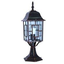 Водонепроницаемый забор антикварная лампа цилиндрическая китайская лампа наружная садовая забор освещение лампа садовая лампа