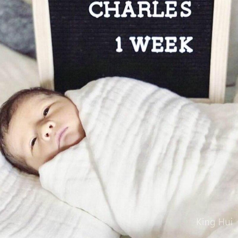 Baby Blankets Newborn Winter Baby Blanket Manta Bebe Muselina Muslin Squares Baby Muslin Squares Baby Bath Swaddle Wrapples