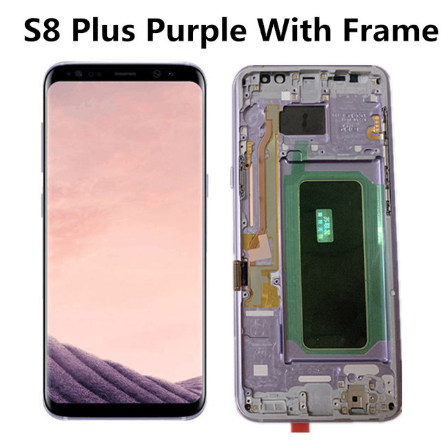 S8 Plus Purple Frame
