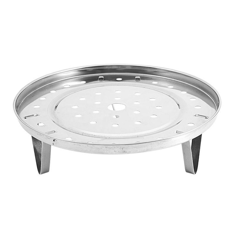 Round Stainless Steel Food Cooking Steamer Rack Cookware 8 Inch Dia