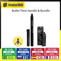 Insta360 tiempo bala accesorio Invisible palo de Selfie para Insta 360 X2 una R uno X accesorio de cámara 360 Rotary con trípode