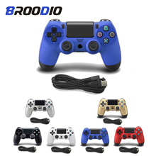 USB Wired Controller Joystick Joypad For Sony PS4 Controller Fit For PlayStation 4 Console For Dualshock Gamepad For PS4 Console usb wired gamepad for playstation 4 joystick gamepads double shock joypad for pc for ps4 controller 2 2m cable for ps3 console