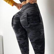 MITAOGIRL nuevo camuflaje mujer para leggins estilo grafiti Slim pantalones de ejército verde polainas Deportes Pantalones
