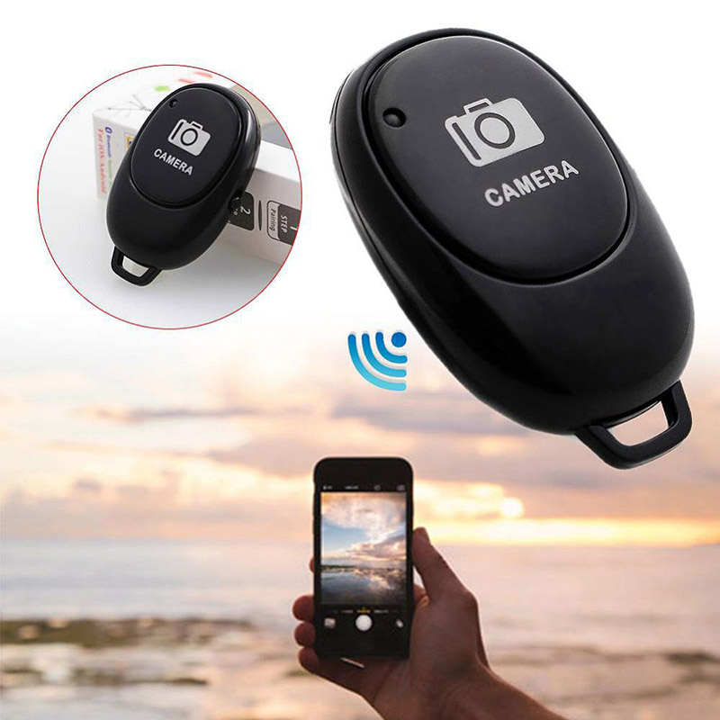 Mini Bluetooth Remote Control Button Wireless Controller Self-Timer Camera Stick Shutter Release Phone Selfie For Ios / Android