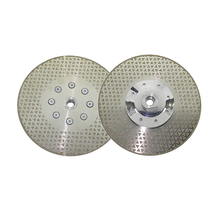 1pc M14 Thread Diamond Saw Disc For Marble Granite Ceramic Tile Both Sides Electroplated Galvanized Diamond Cutting Blade