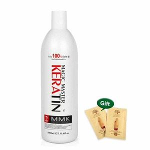 Image 4 - 1000ml Without  Formalin Keratin Fresh Smelling Magic Master Keratin Brazilian Treatment Straighten and Smooth for Damaged Hair