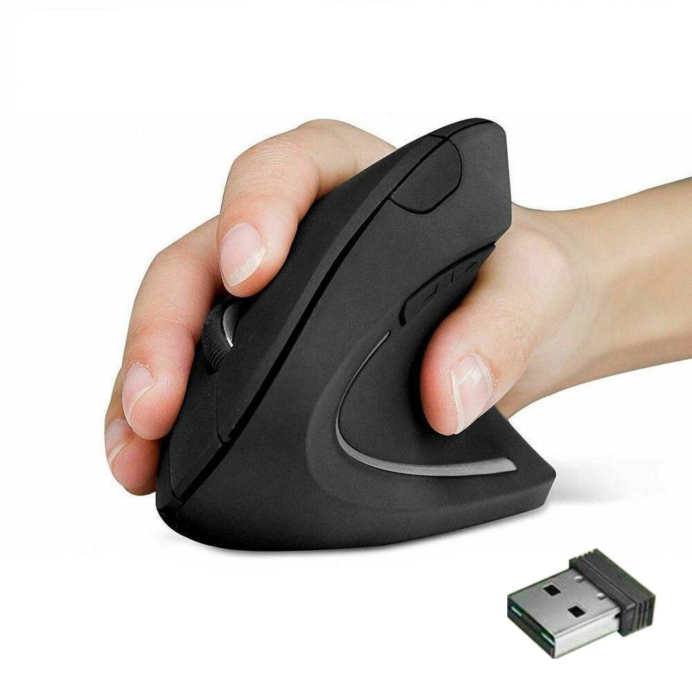 Мышь Вертикальная Эргономичная игровая, 2,4 ГГц, 1600DPI, 1/2 шт.