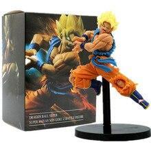 Dragon Ball Z Goku Super Saiyan 2 Ação PVC Figuras de Brinquedo Estatueta Kamehameha DBZ Goku Dragon Ball Super Anime DXF
