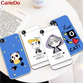 CarieDo Girl Man 1 Silicon Soft TPU Case Cover For HTC Desire One X9 M9 M10 U11 630 650 820 825 828 830 10 12 Plus Pro Evo image