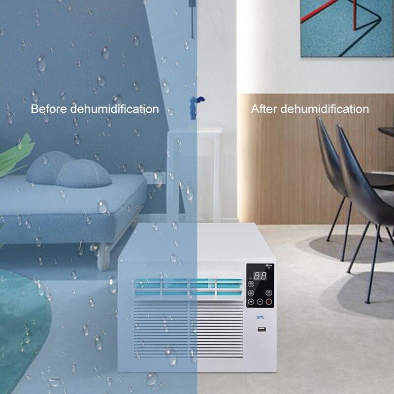 900W Draagbare Desktop Koeling Airco Ventilator Led Bedieningspaneel Airconditioner Bed Kleine Luchtkoeler Voor Kamer 2