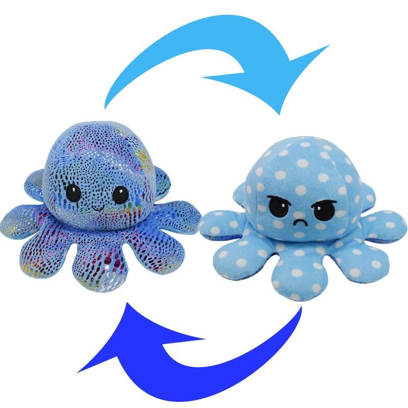 Reversible Octopus Stuffed Toy40