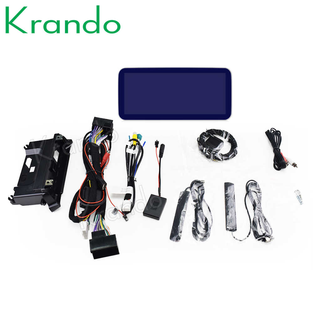 Krando Android 10.0 4G 10.25 'Auto Radio Audio Navigatie Voor Mercedes Benz C W205 GLC-X25 V Klasse W446 2015-2020 Ntg 5.0 5.5