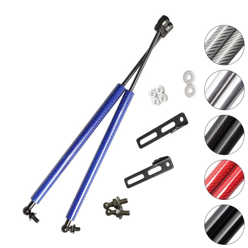 Gas Struts For Nissan Qashqai J11 for Nissan Rogue Sport 2014-2017 Hood Bonnet Carbon Fiber Lift Support Car Accessories Damper