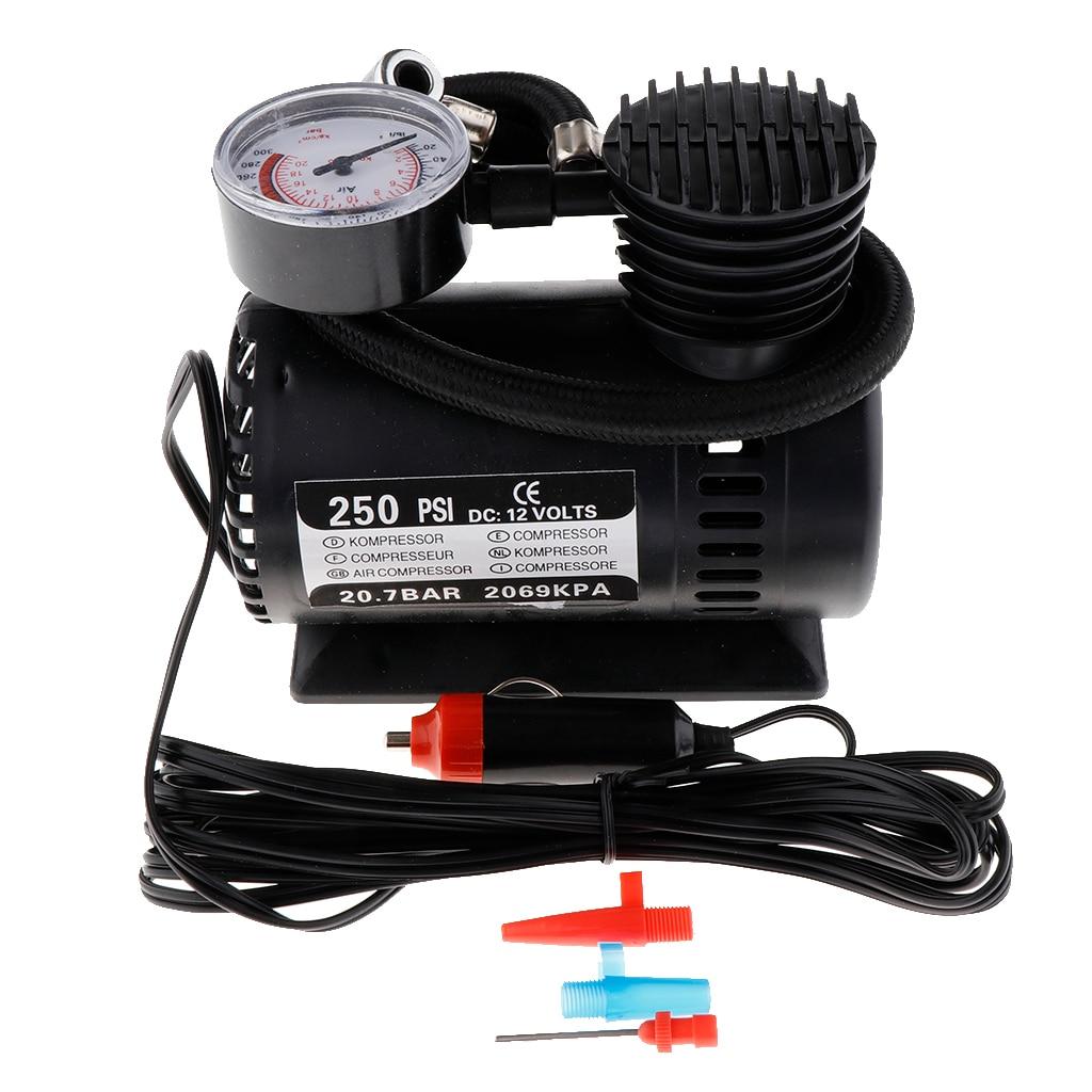 Portable Electric Mini 12V Air Compressor Pump Car Tyre Tire Inflator 300PSI