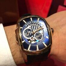 2020 reef tiger/rt nova chegada esportes dos homens automático todos os preto pulseira de borracha à prova drágua relógio rga3069s