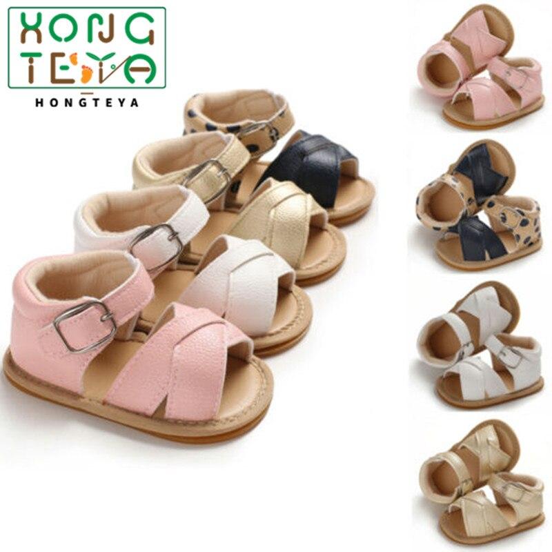 2020 Fashion Infant Baby Girl Boy Shoes Casual Soft Sole Prewalker Summer Prewalker Shoes Baby Moccasins Gold Pink White Leopard
