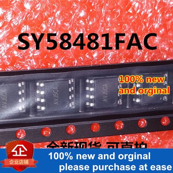10pcs 100% New And Orginal SY58481FAC SOP8 In Stock