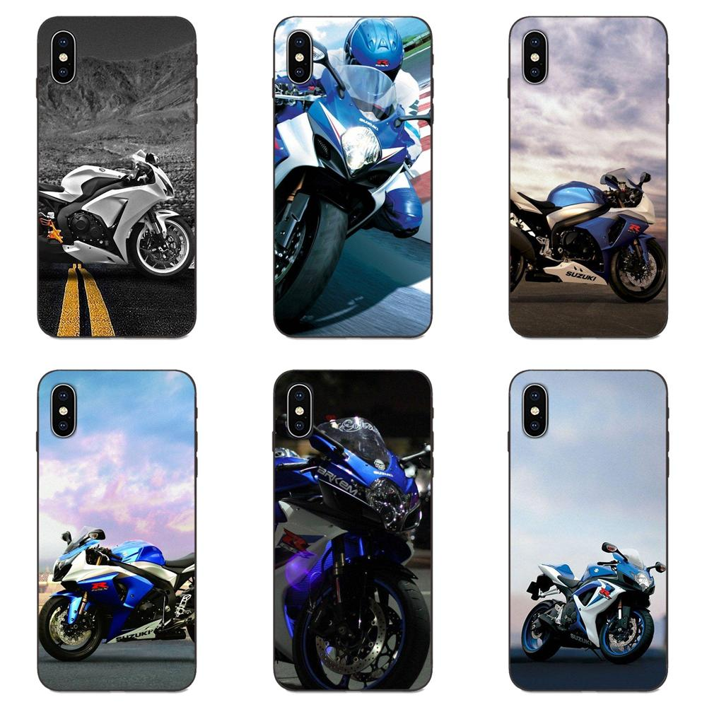 Cool Suzuki Gsxr <font><b>1000</b></font> Motorcycle For Xiaomi Redmi Note <font><b>3</b></font> 3S 4 4A 4X 5 5A 6 6A <font><b>7</b></font> 7A K20 Plus Pro S2 Y2 Y3 Soft Custom Design image