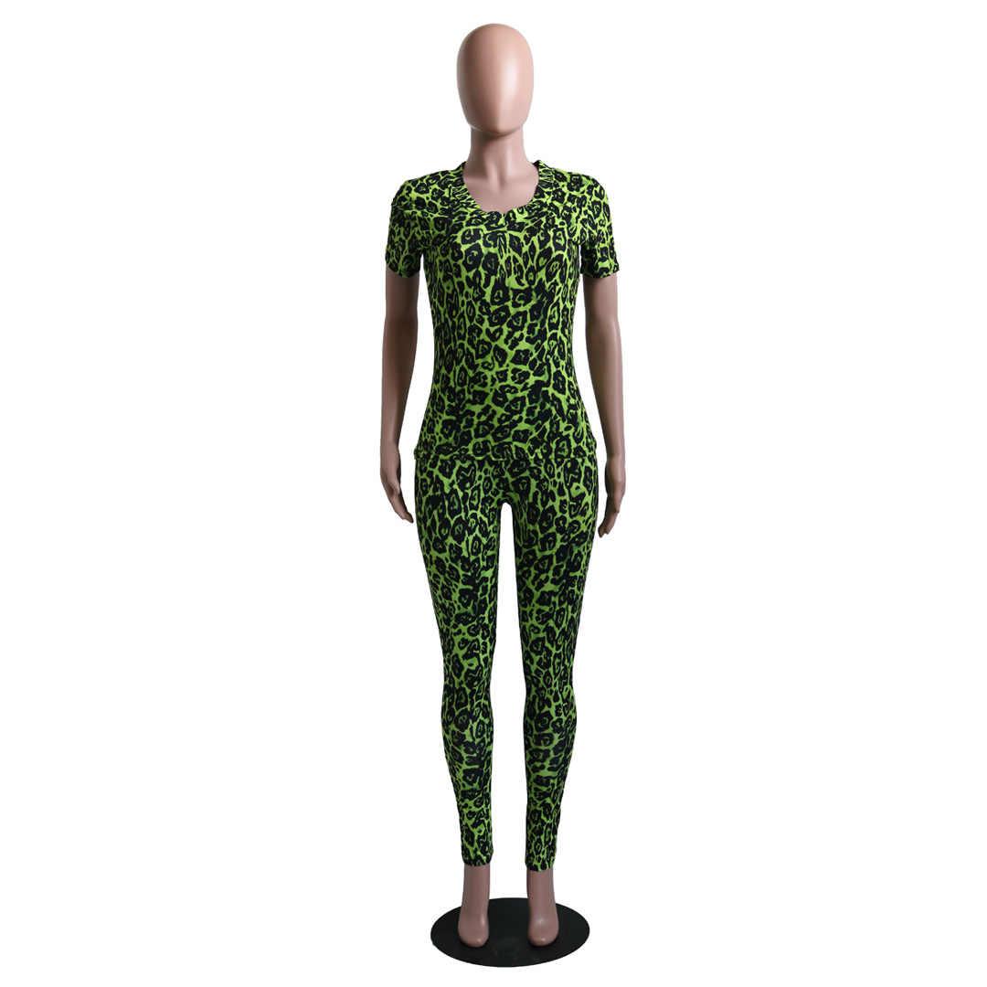 حجم كبير صيف 2020 قطعتين مجموعة بلوزات وسراويل المحاصيل 2 قطعة مجموعة ملابس نادي المرأة مطابقة مجموعات A8380