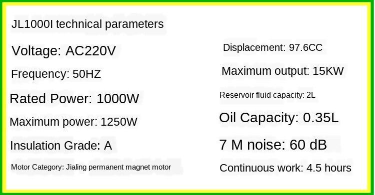 de Freqüência do Gerador Gerador 220V Mini Digital Portátil