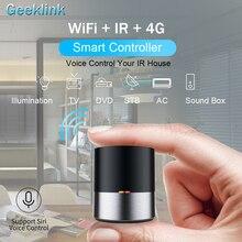 Geeklink Mini maison intelligente télécommande universelle WIFI + Center de contrôle IR pour le travail à domicile intelligent avec Alexa