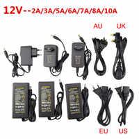 LED Power Supply Adapter DC5V / DC12V / DC24V 1A 2A 3A 5A 7A 8A 10A For led strip lamp lighting led power driver plug
