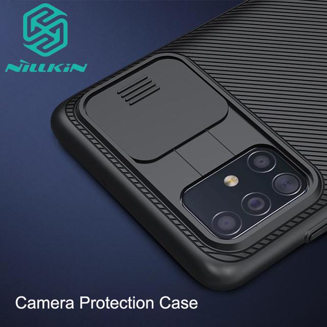 Nillkin Galaxy S20 Plus Ultra Shockproof Camera Slide Cover Back Case