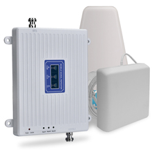 4g Signal Repeater 3g 900 1800 2100 Cellphone Signal Booster GSM 2G 3G 4G Cellular Signal Amplifier 4g LTE 70dB Gain Europe Asia