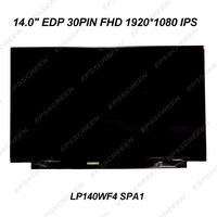 14.0 IPS MATRIX MODULE FHD LED LCD SCREEN 30PIN DISPLAY LP140WF4 SPA1 (SP)(A1) (SPXA1) 1920*1080 panel monitor replacement