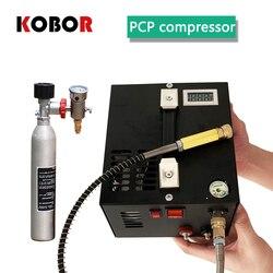 FÜR PCP air gun Aufblasbare 4500psi 300bar 30mpa 12 v/220 v Pcp Luft Kompressor 12v Miniatur Pcp kompressor Einschließlich Transformator