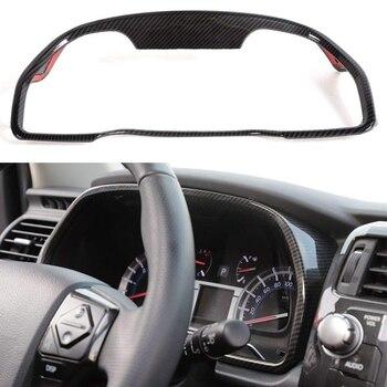 Car Dashboard Trim Cover Frame for Toyota 4Runner SUV 2010-2019, Carbon Fiber Grain