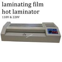 A3 Size 110V 220V photo laminating material cold heat Forward reverse 12.6 inch width laminating film plastic film hot laminator