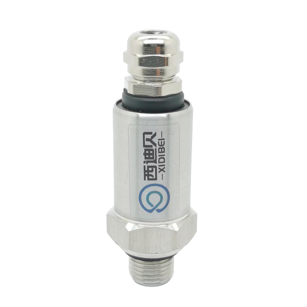 Pressure Transmitter Sensor Water Oil Fuel Gas Air  G1/4  12-36V 4-20mA  0-600bar Optional Stainless Steel Pressure  Transducer