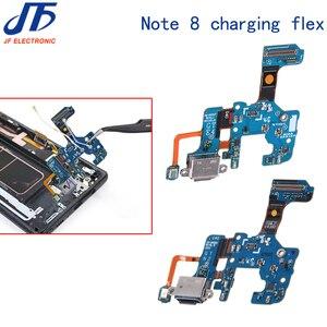 Image 4 - 10pcs טעינת Dock מחבר USB מטען נמל להגמיש כבלים עבור הערה 8 9 N910 N915 N920 N950U N950F N960F U