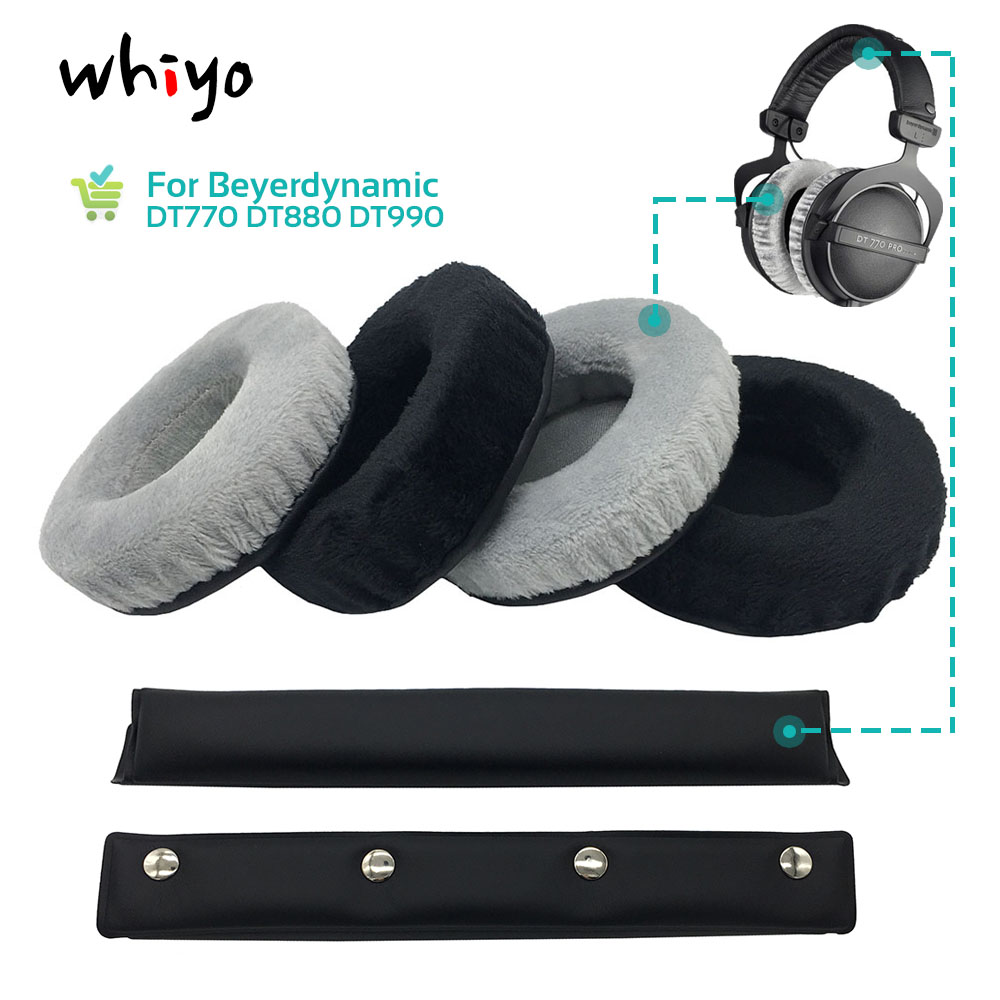 Replacement Headphone Headband Pad kit  For Beyerdynamic DT880 DT990