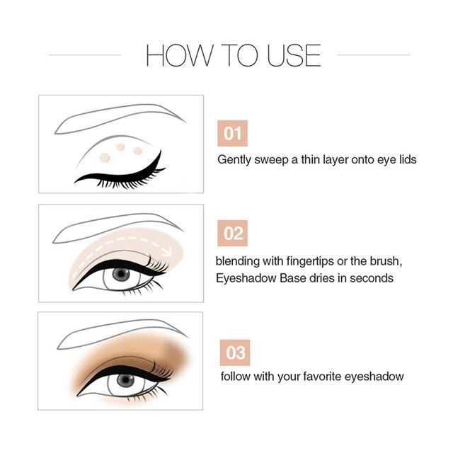 Sequin Glitter Primer Eyeshadow Pigment Cream Face Lip Eye Makeup Primer Cream 4