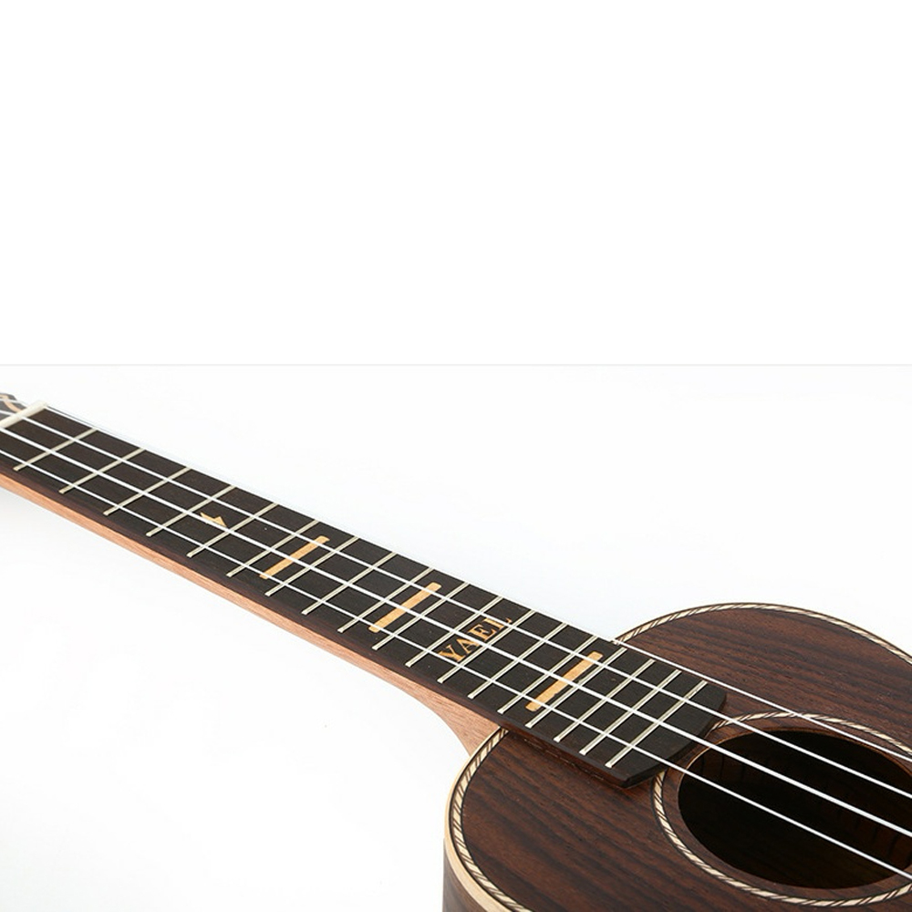 Haute qualité 23 pouces Concert ukulélé 4 AQUILA cordes hawaïen Mini pleine guitare en palissandre Uku guitare acoustique Ukelele UK2313 - 4