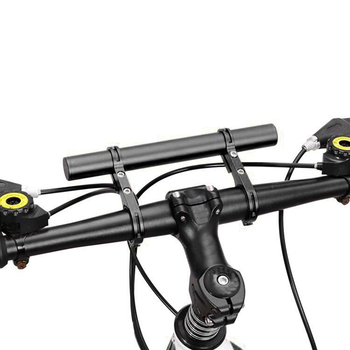 new nitecore handle mount kit nhm20 for monster tiny series tmc16tm16gt travel flashlight assembly original accessories 20*9cm Bicycle Handlebar Flashlight Holder Handle Bar Bicycle Accessories Extender Mount Bracket 20cm for Moutain Bikes Scooter